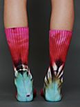 Brightly Twisted Ankle Sock