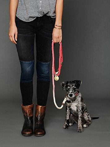 Overdyed Rope Leash