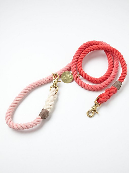 Overdyed Rope Leash in fp-pet-project