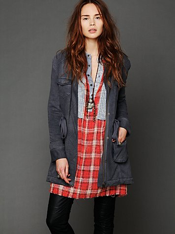 Army Parka from freepeople.com