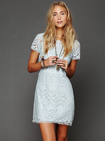 Straight Laced Shift Dress