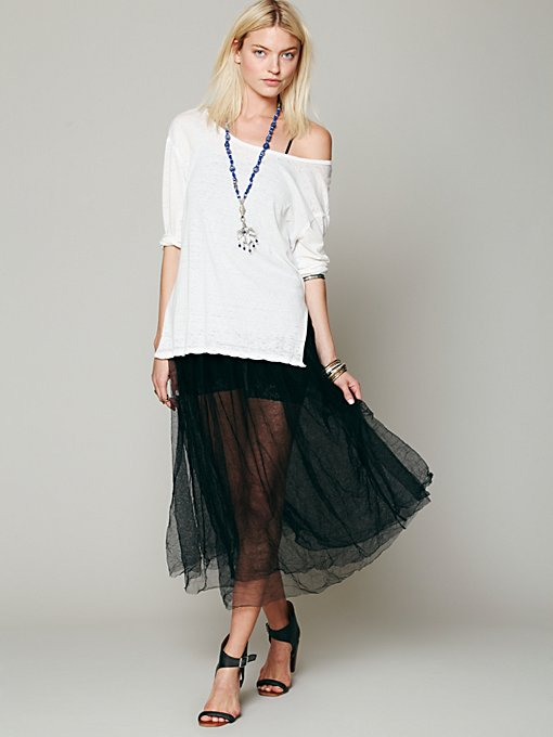 Raw Tulle Skirt in clothes-customer-favorites