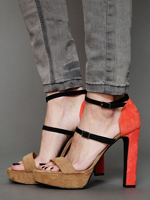 Resident Platform Heel in High-Heels