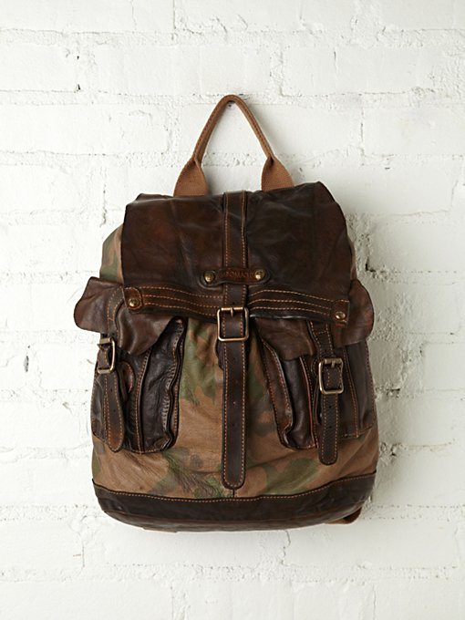 Campomaggi Barbarossa Backpack in Bags-Wallets