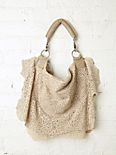 Ripped Lace Hobo