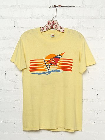 Vintage Wind Surfing Graphic Tee