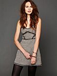 Shine Tweed Dress