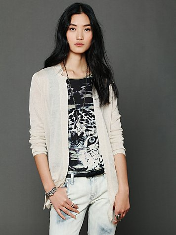 Free People Solid Cardigan