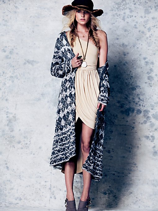 Check This Pattern Maxi Cardigan