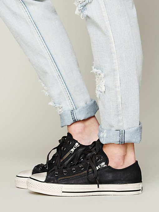 Low Top Double Zip Chucks in shoes-sneakers