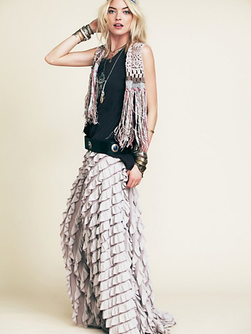 Free People FP X Lydia Maxi Skirt in maxi-skirts