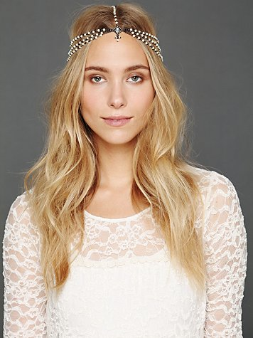 Pearl Chain Headpiece