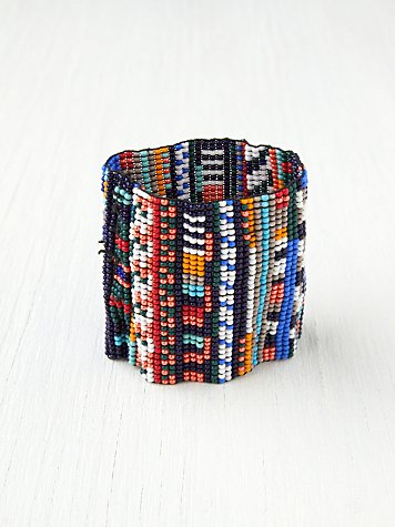 Chan Luu Beaded Cuff