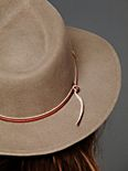 Leather Band Fedora
