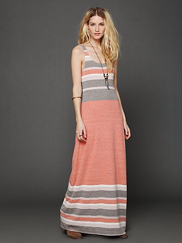 Free People O Maya Maxi Dress