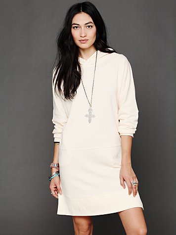 Free People Kicking Around Hoodie Tunic