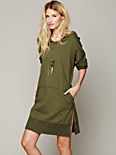 Kicking Around Hoodie Tunic