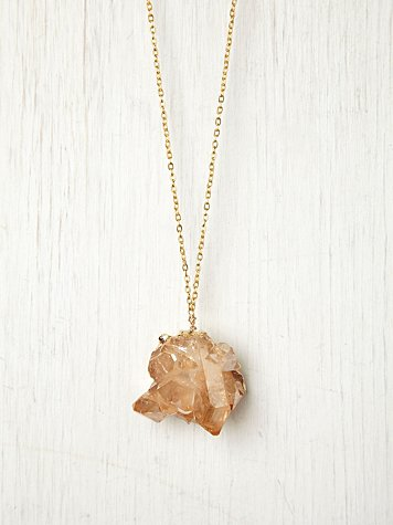 Dara Ettinger Rose Quartz Pendant