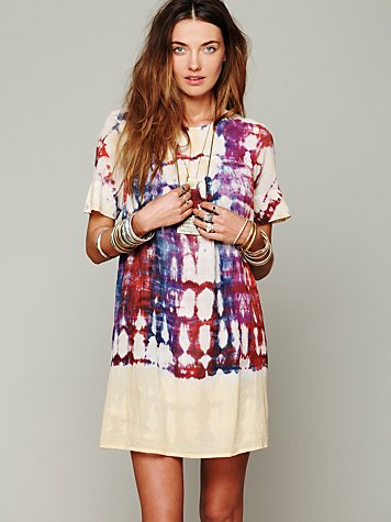 Artus Tie Dye Shapeless Dress