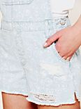 Cross Over Distressed Overall