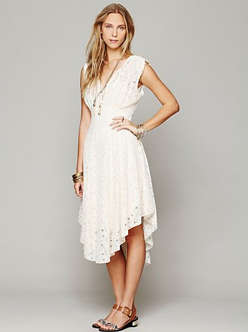 Free People FP X Garden of Eden Lace Dress