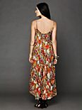 FP ONE Criss Cross Florals Maxi Dress