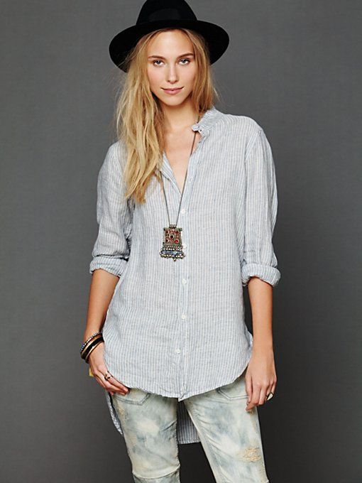 Fall In Line Buttondown Tunic
