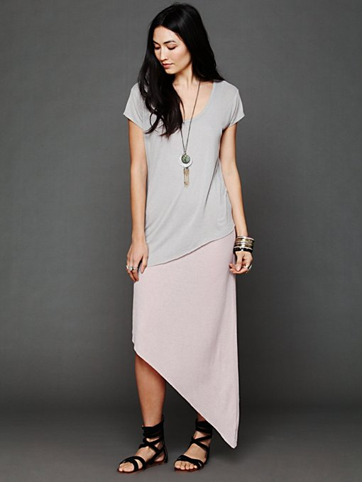 Free People Long Lines Twofer in Tunic-Dresses