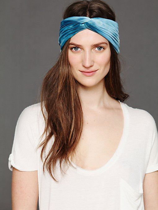 Tie Dye Turban in Hair-Accessories