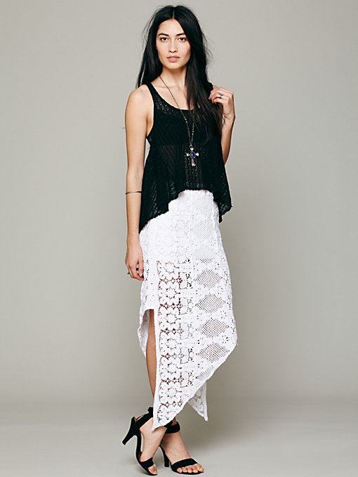 Skinny Love Crochet Lace Skirt in sale-sale-bottoms