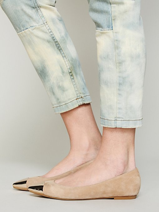 Jeffrey Campbell Vivian Cap Toe Flat in Loafers