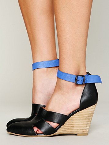 Jeffrey Campbell + Free People Courtland Mini Wedge