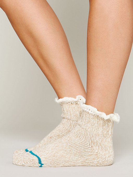 Short Heathered Highland Boot Sock in accessories-legwear-ankle-socks