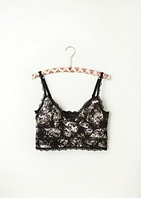 Tea Party Lace Crop Bra in intimates-bras-cropped