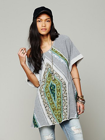 Free People Patchwork Meadow Tunic