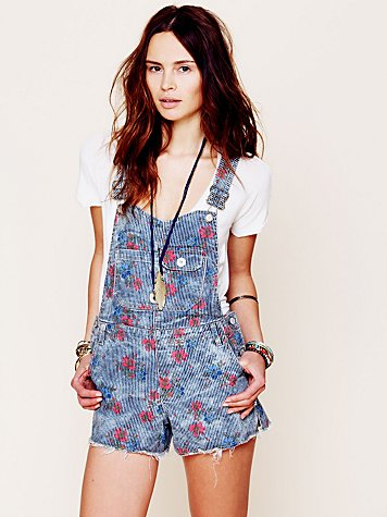 Railroad Printed Overall