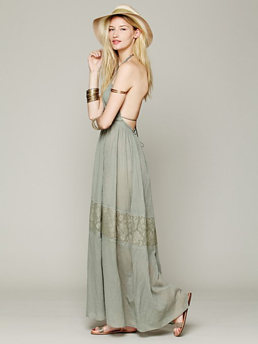 Free People Endless Summer Triangle Top Maxi in white-maxi-dresses