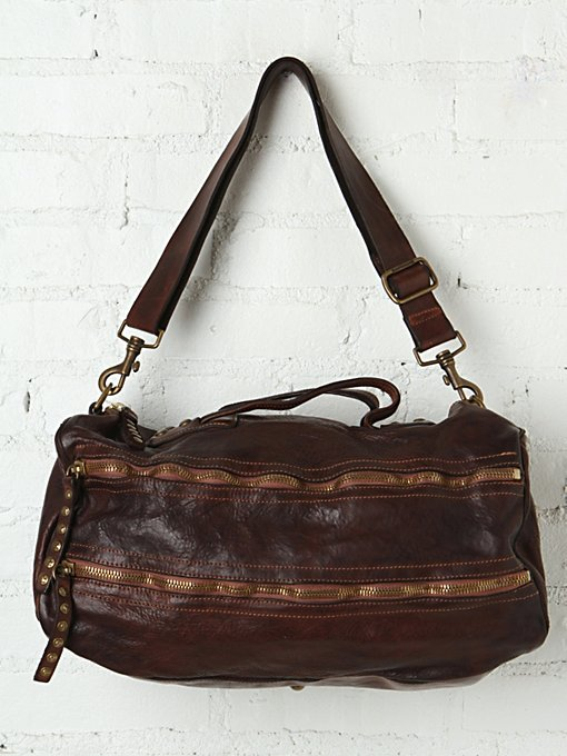 Campomaggi Aragon Distressed Duffle in tote-bags