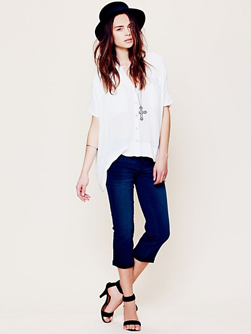 Bootleg Cropped Jeans in sale-sale-bottoms