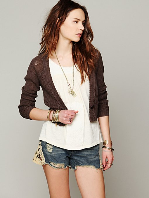 Cropped Cardigan in sale-sale-under-70