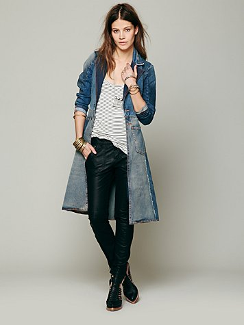Head Over Heels Denim Jacket