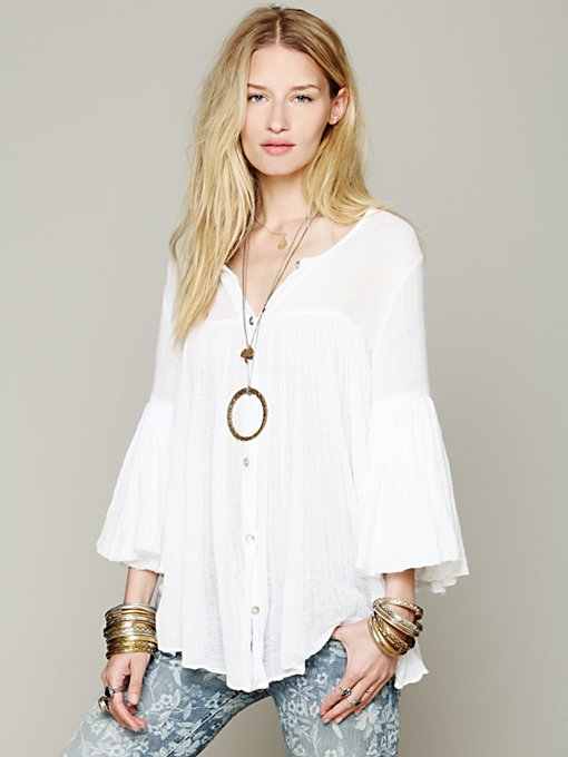 Oversized Tunic in clothes-tops