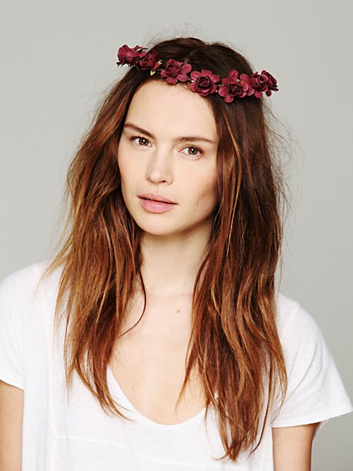 Cult Gaia Mulberry Crown in Flower-Headbands
