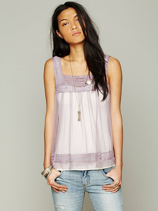 Free People Lady Lanes Cami in Party-Tops