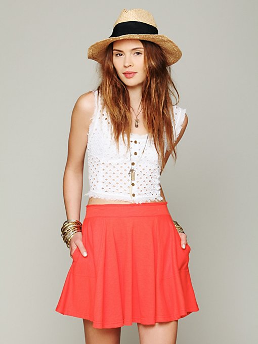 Skater Baby Circle Skirt in clothes-skirts-mini