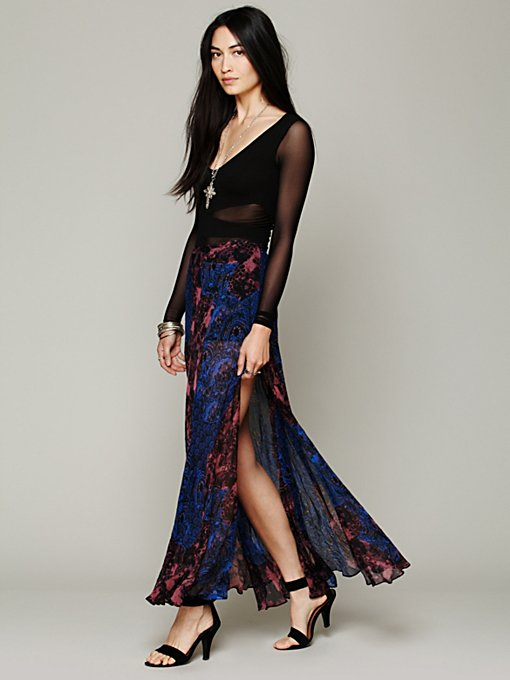 Free People Your Dreams Maxi Skirt