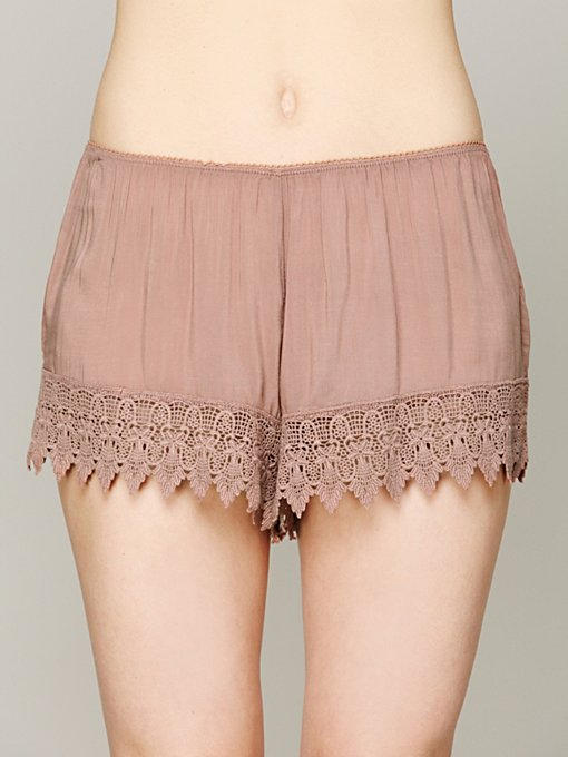 Lace Trim Knicker