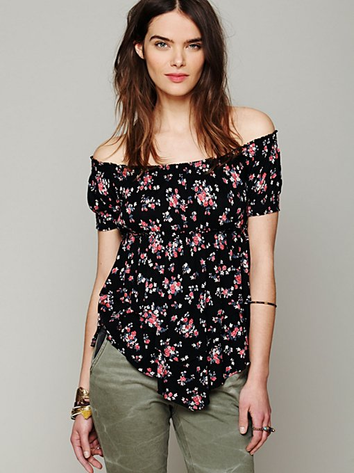 Free People Carrie Off Shoulder Top in off-shoulder-tops