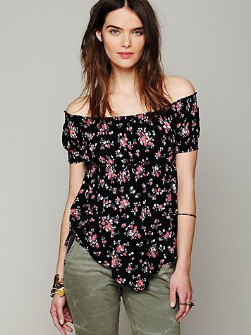 Carrie Off Shoulder Top