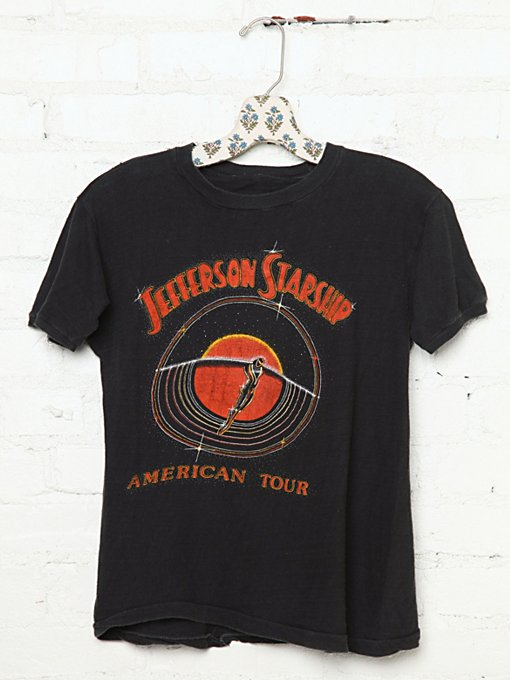 Vintage Jefferson Starship American Tour Tee in vintage-loves-clothes